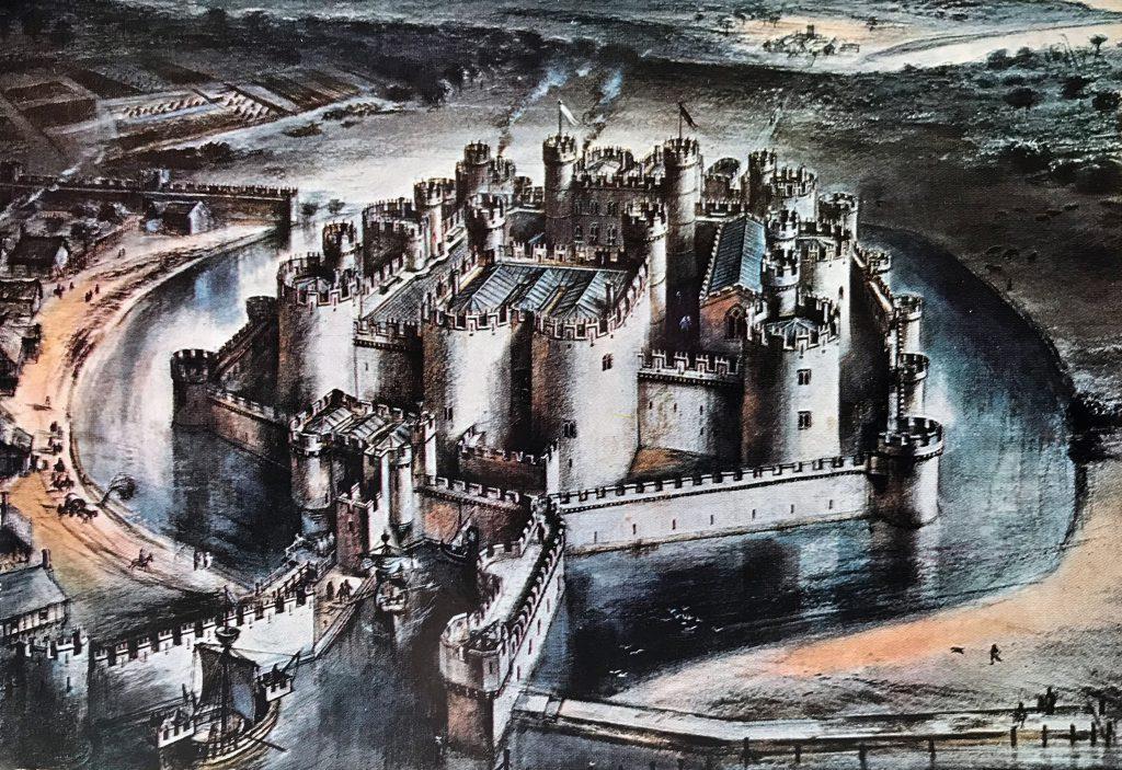 Beaumaris Castle Castellogy